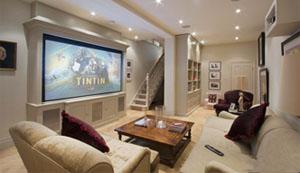 家庭影院音视频系统集成解决方案(40-50平方米)