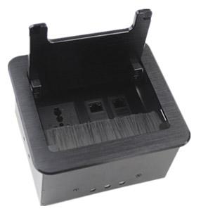 毛刷桌面插座