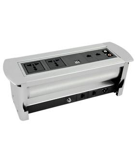 手动翻转桌面插座 JN-207M