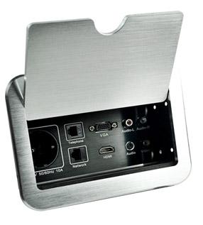掀盖桌面插座 JN-900