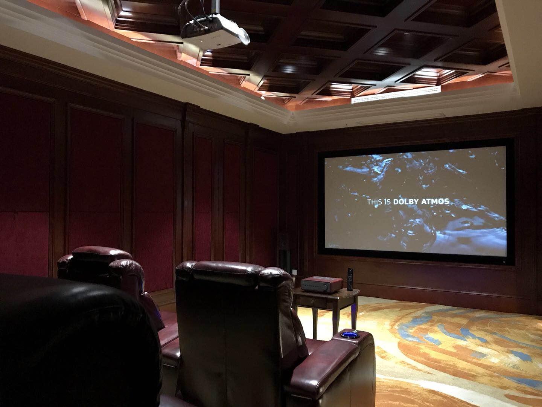 南京好享家体验中心影音室